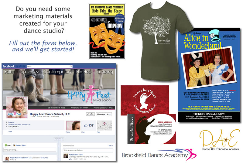 Need marketing materials for your dance studio?