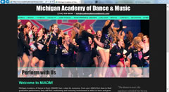 Dance Website - Michigan Academy of Dance and Music in Dexter, MI